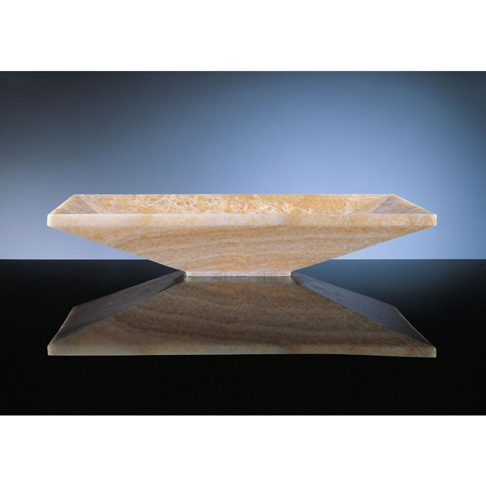 Stone Forest Vessel Bathroom Sinks item C50-24 TR