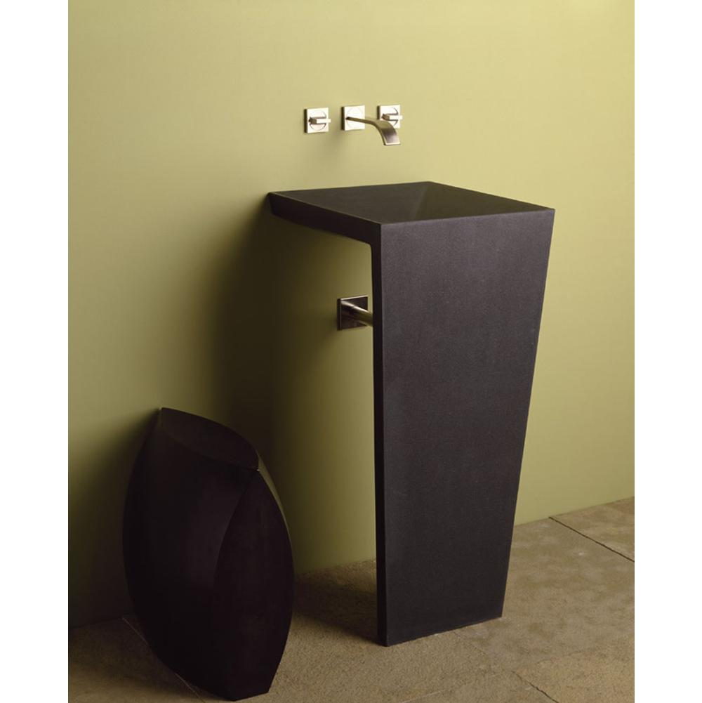 Stone Forest Bathroom Sinks Pedestal Bathroom Sinks Black | Kitchens ...