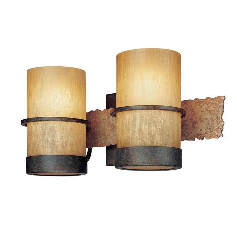 Troy Lighting Two Light Vanity Bathroom Lights item B1842BB