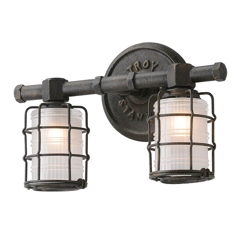 Troy Lighting Two Light Vanity Bathroom Lights item B3842