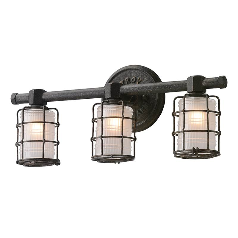 Troy Lighting Three Light Vanity Bathroom Lights item B3843