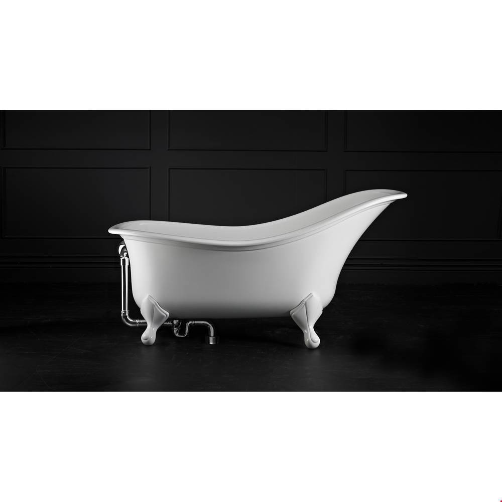 Victoria And Albert Clawfoot Soaking Tubs item DRA-N-xx-OF + FT-DRA-AB