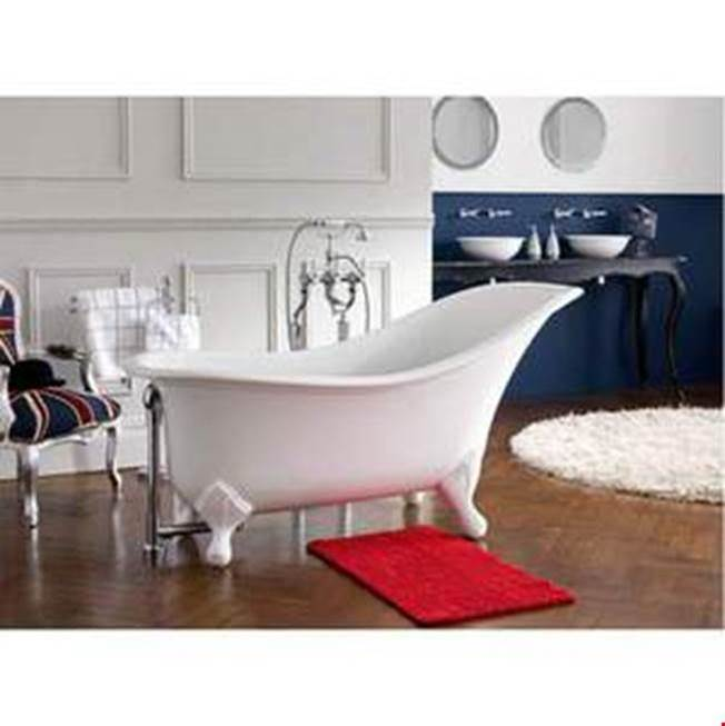 Victoria And Albert Clawfoot Soaking Tubs item DRA-N-SW-OF + FT-DRA-SW