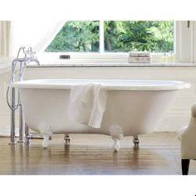 Victoria And Albert Clawfoot Soaking Tubs item WES-N-xx-OF + FT-HAM-PB