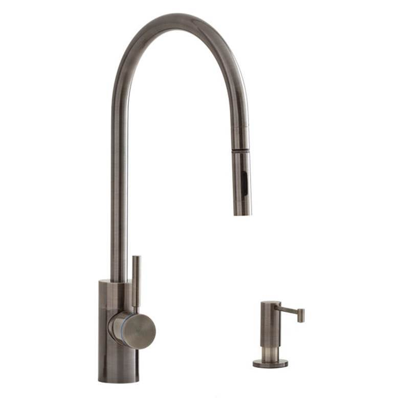 Waterstone Single Hole Kitchen Faucets item 5300-2-SS
