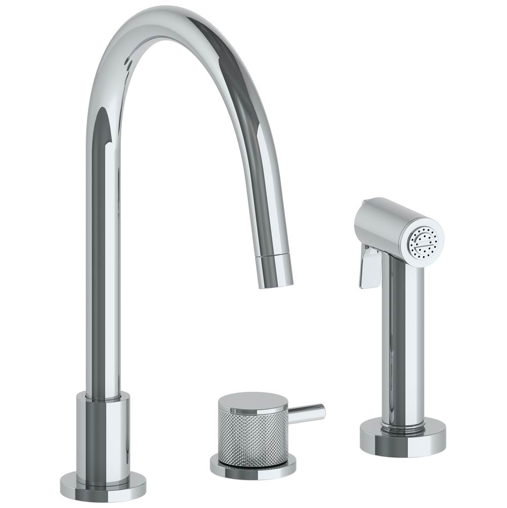 Watermark Deck Mount Kitchen Faucets item 22-7.1.3GA-TIC-SEL