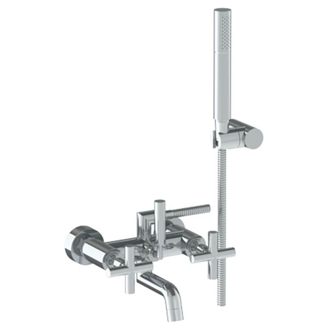 Watermark Wall Mounted Bathroom Sink Faucets item 23-5.2-L9-SPVD