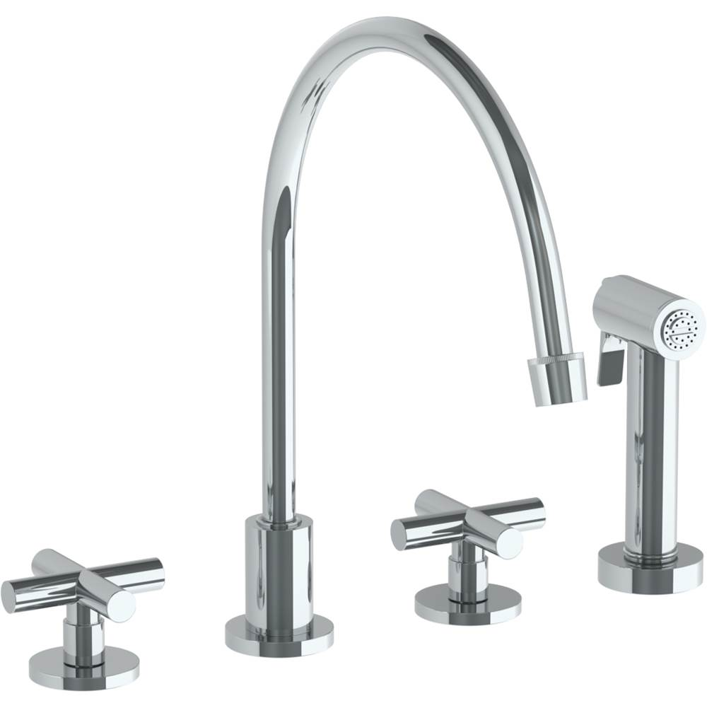 Watermark Deck Mount Kitchen Faucets item 23-7.1EG-L9-MB