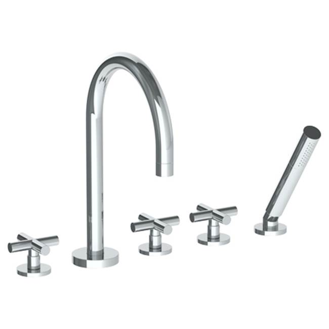 Watermark Deck Mount Tub Fillers item 23-8.1-L9-SBZ