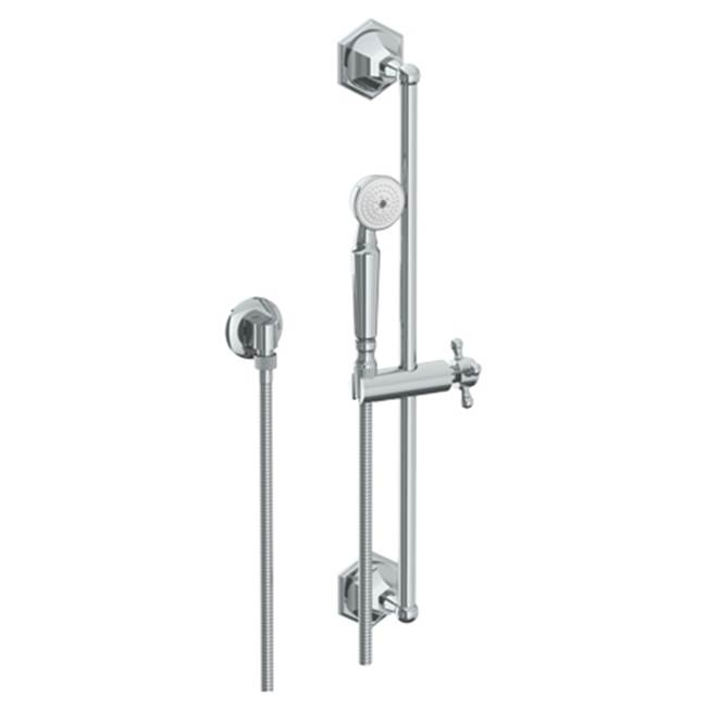 Watermark Hand Shower Slide Bars Hand Showers item 314-HSPB1-XX-SEL