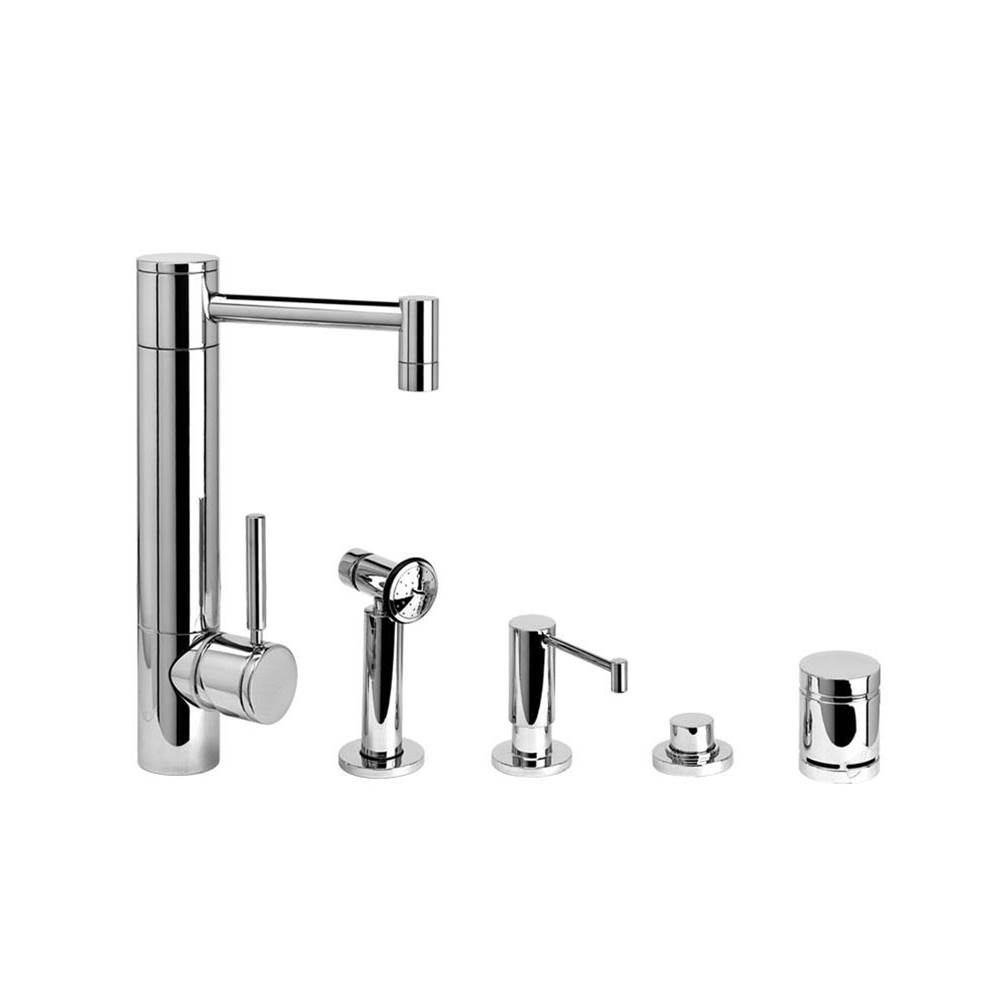 Waterstone Single Hole Kitchen Faucets item 3500-4-SS