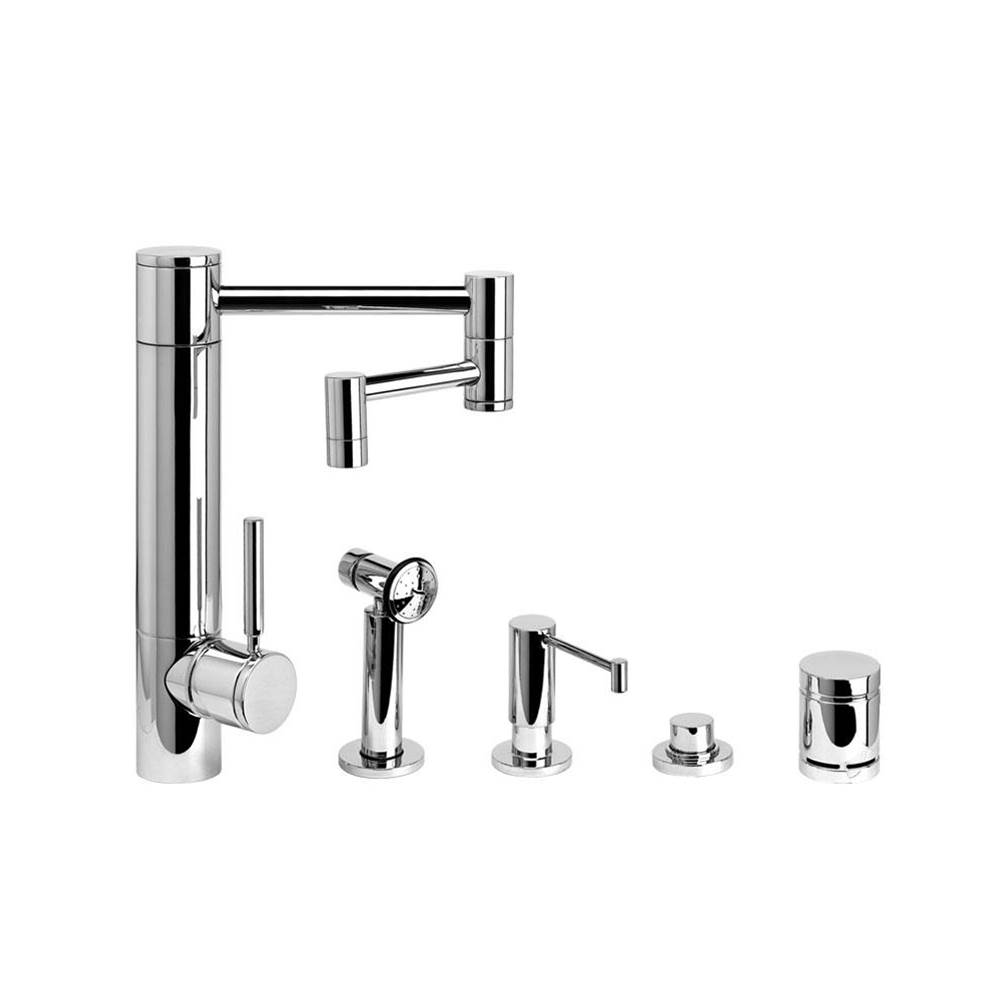 Waterstone Single Hole Kitchen Faucets item 3600-12-4-AB