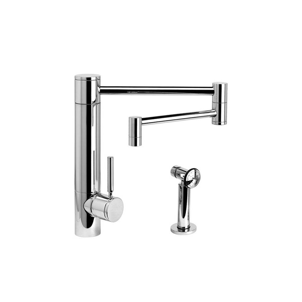 Waterstone Single Hole Kitchen Faucets item 3600-18-1-SB