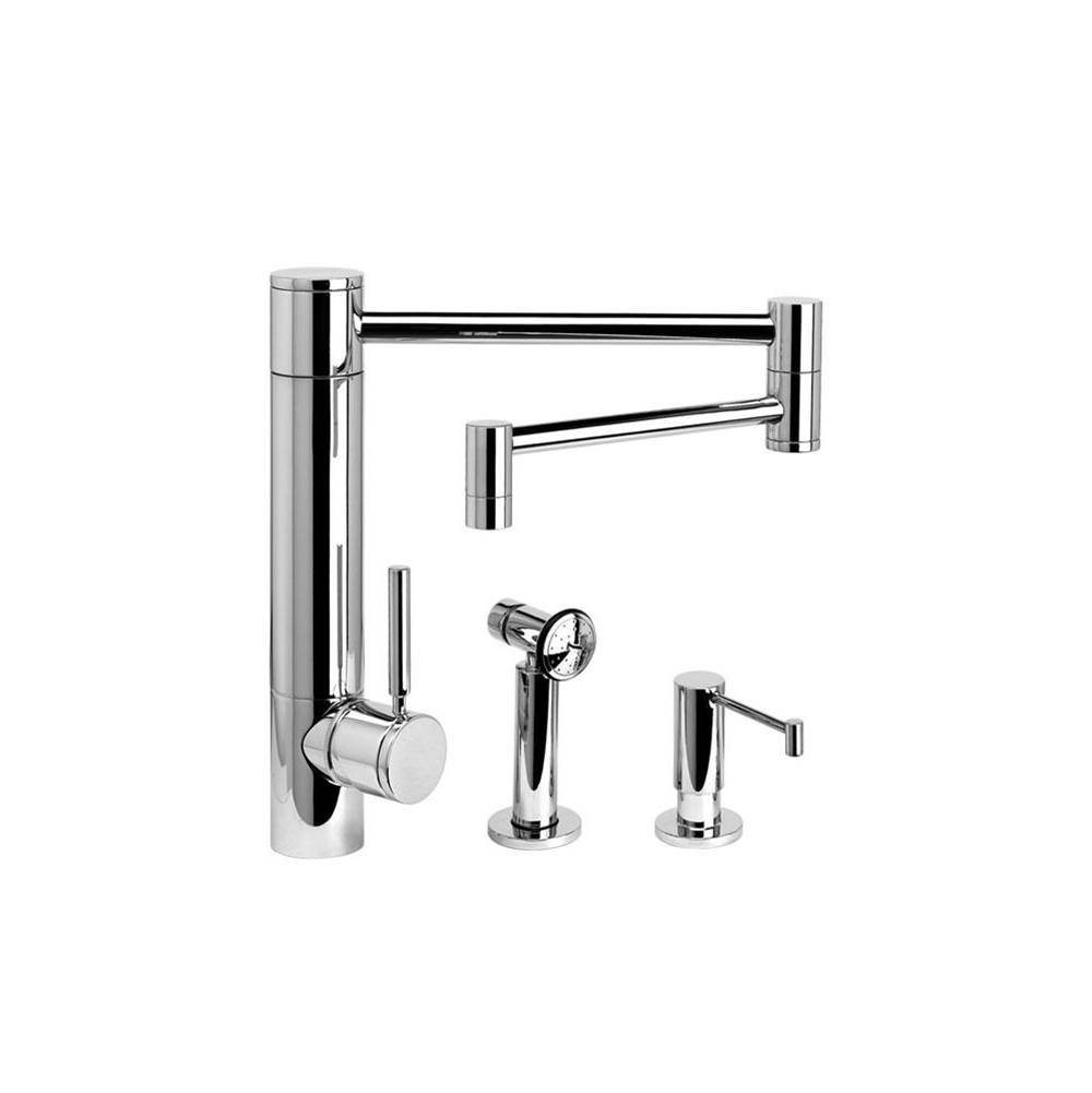 Waterstone Single Hole Kitchen Faucets item 3600-18-2-AP