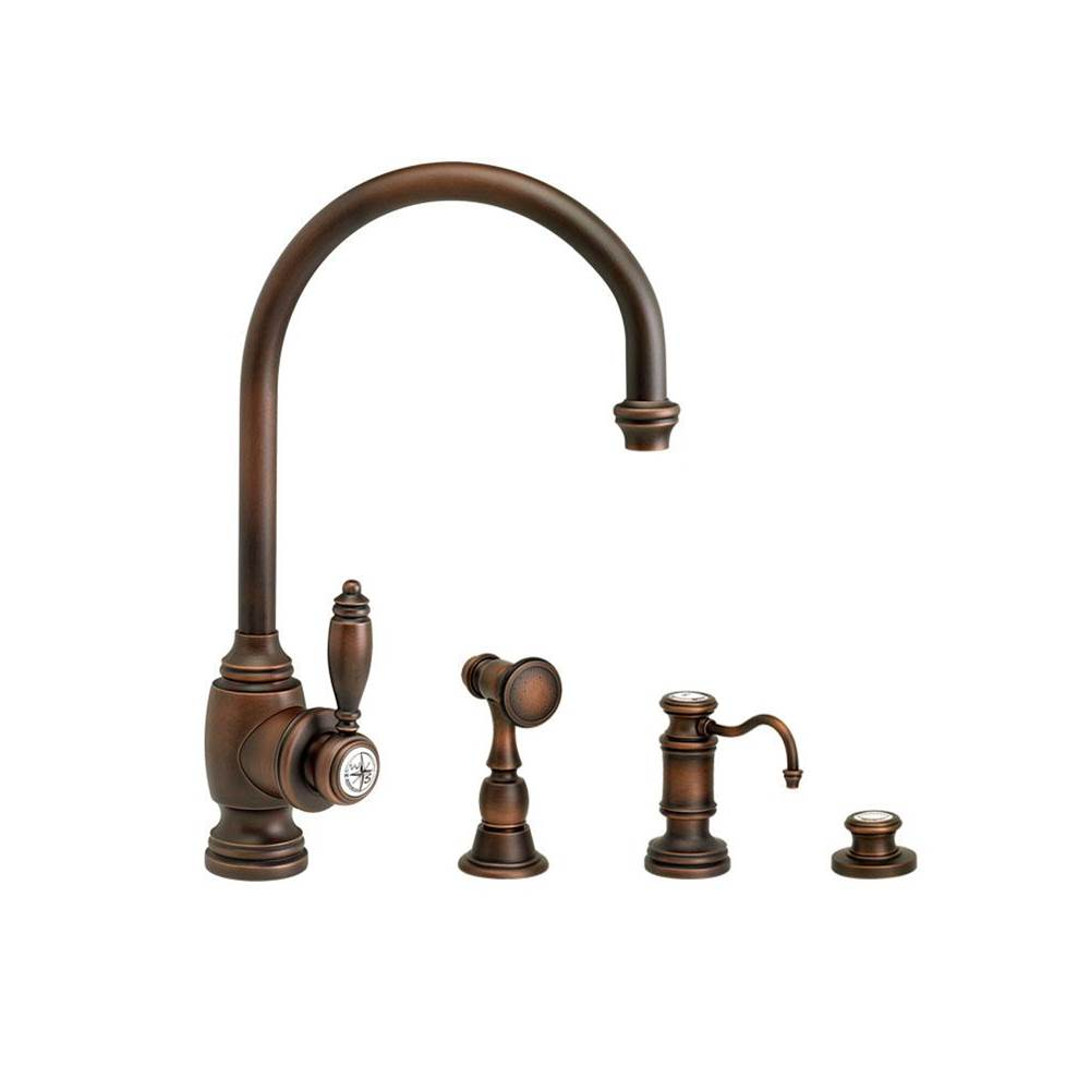 Waterstone Single Hole Kitchen Faucets item 4300-3-DAMB