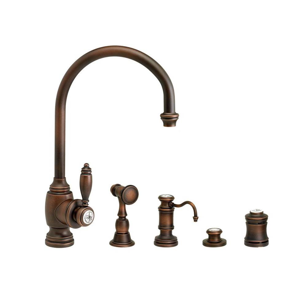 Waterstone Single Hole Kitchen Faucets item 4300-4-CH