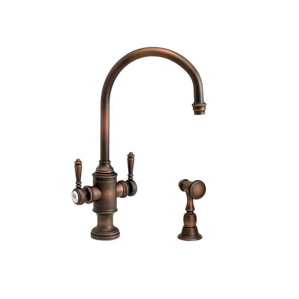 Waterstone Single Hole Kitchen Faucets item 8030-1-PB